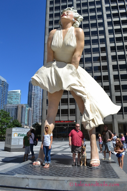 Standing Under Marilyn -- Tales and Tails