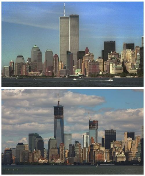 New York Before and After, courtesy of Google Images